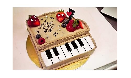 ピアノケーキ