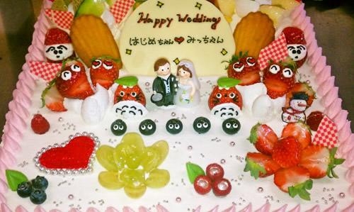 Weddingケーキ(オーダーメイドケーキ)